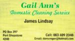 Gail Ann's