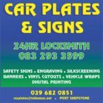 Car Plates and Signs South Coast